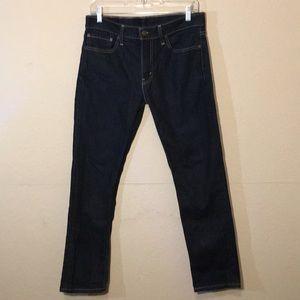 Levi's 511 in dark blue wash Sz 32/30